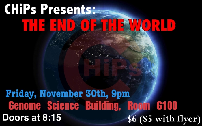 END OF THE WORLD SHOW!